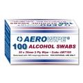 AeroWipe Alcohol Swabs [Box of 100]