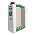 Defibrillator Steel Wall Cabinet with alarm and red flashing light
